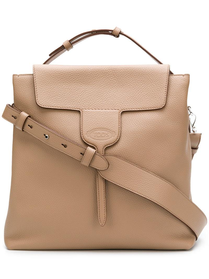 2180080fdb Tod's Small Joy Leather Shoulder Bag In Neutrals | ModeSens