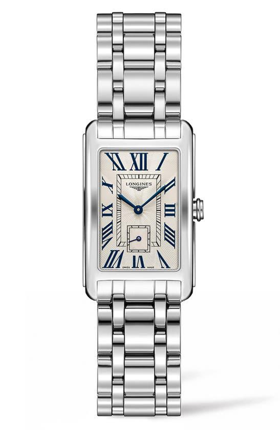 Longines Women's Dolcevita Stainless Steel Bracelet Watch In Silver