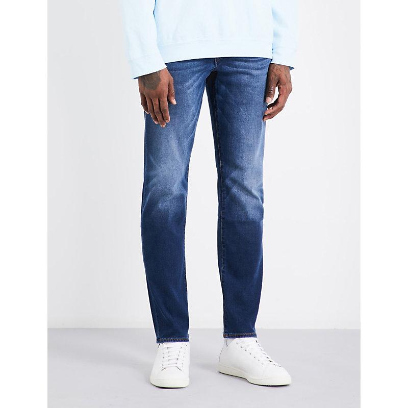 True Religion Geno Slim-Fit Relaxed Jeans In Indigo Lake