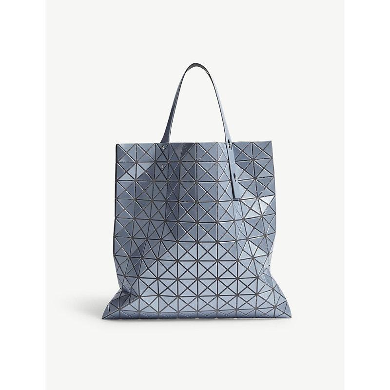 f7d513dc1f Bao Bao Issey Miyake Bao Issey Miyake Blue Prism Metallic Tote Bag ...