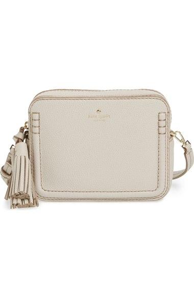 b7a58f3e7 Kate Spade 'Orchard Street - Arla' Crossbody Bag In Crisp Linen ...