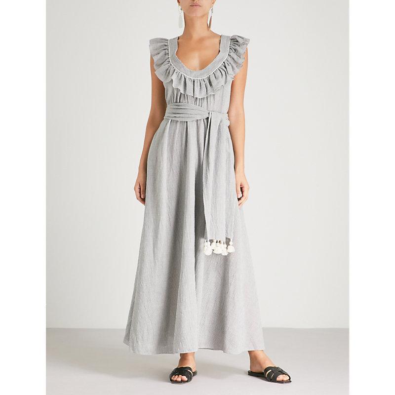 Cotton Varkala Blend Graces Geraldine Dress Maxi Three In London 6tvSqxqO
