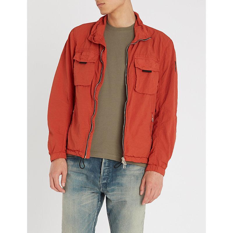 9b94c3f4ec Belstaff Pendeen Shell Jacket In Bright Tamarind | ModeSens