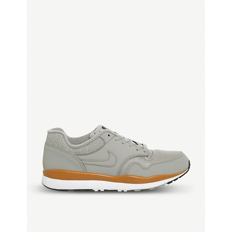 82158ce6b2066 Nike Air Safari Leather Sneakers In Cobblestone Monarch | ModeSens