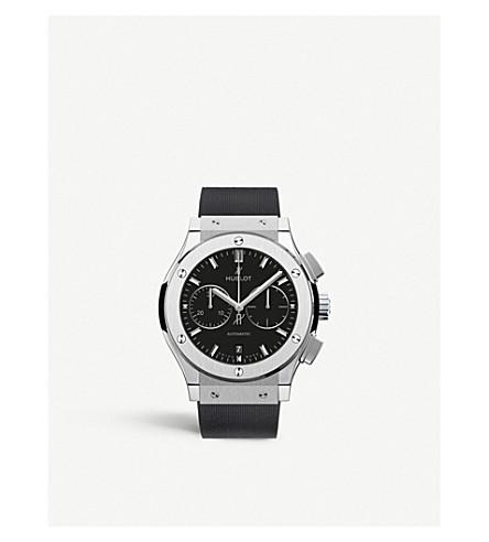 Hublot 521.nx.1171.rx Classic Fustion Titanium Watch In Black
