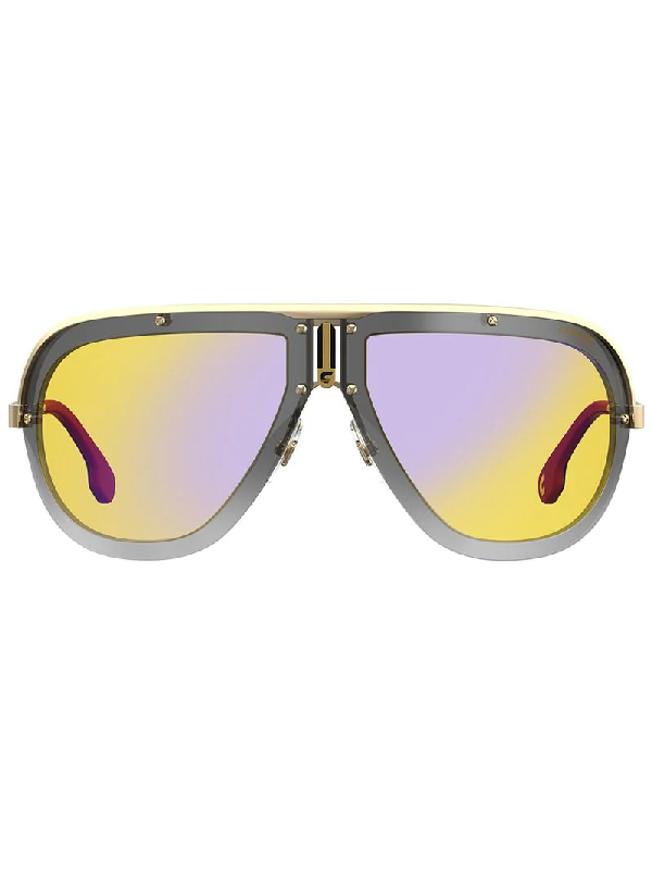 bf508a3c4 Carrera 66Mm Americana Shield Sunglasses In Blue
