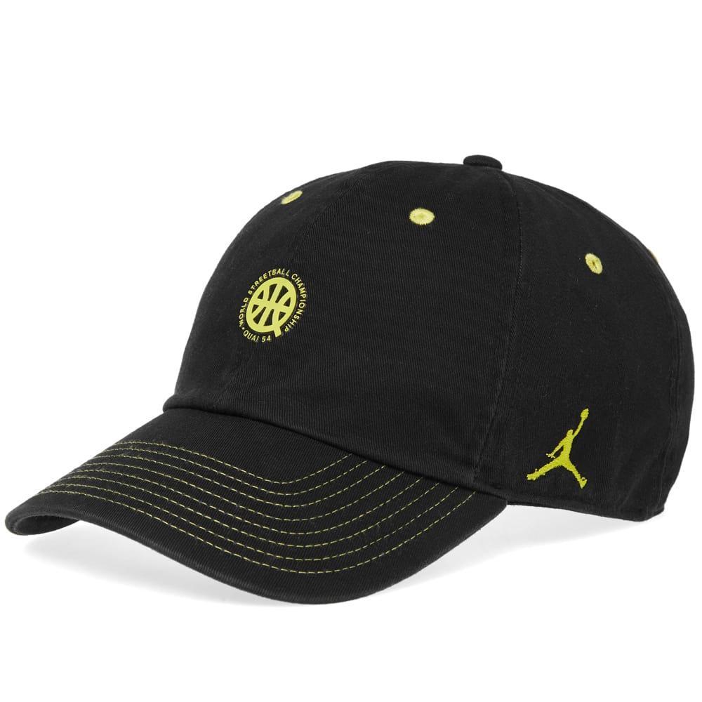0989059dc9e768 Nike Air Jordan H86 Floppy Hat  Quai 54  In Black