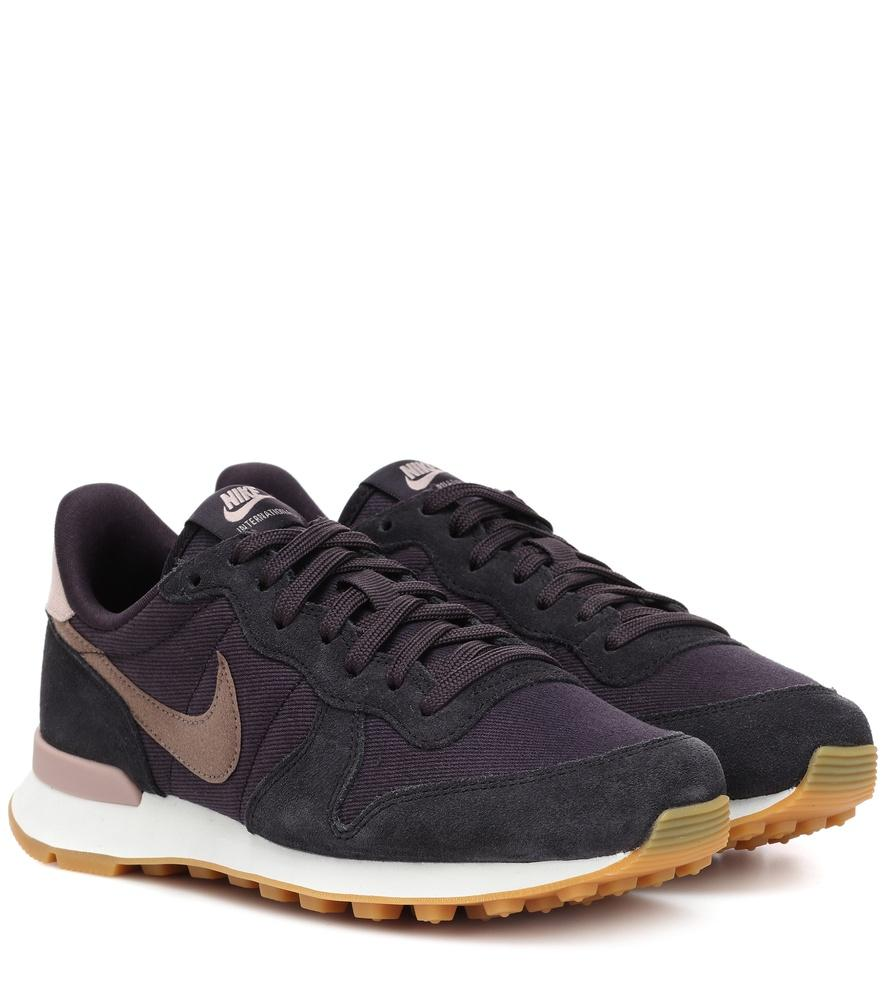 the latest 374c3 9518d Nike Internationalist Suede Sneakers In Blue
