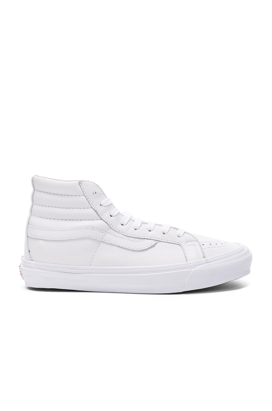 Sk8 Vault® Og Leather Top Hi High In Sneakers White Lx dCWxBore