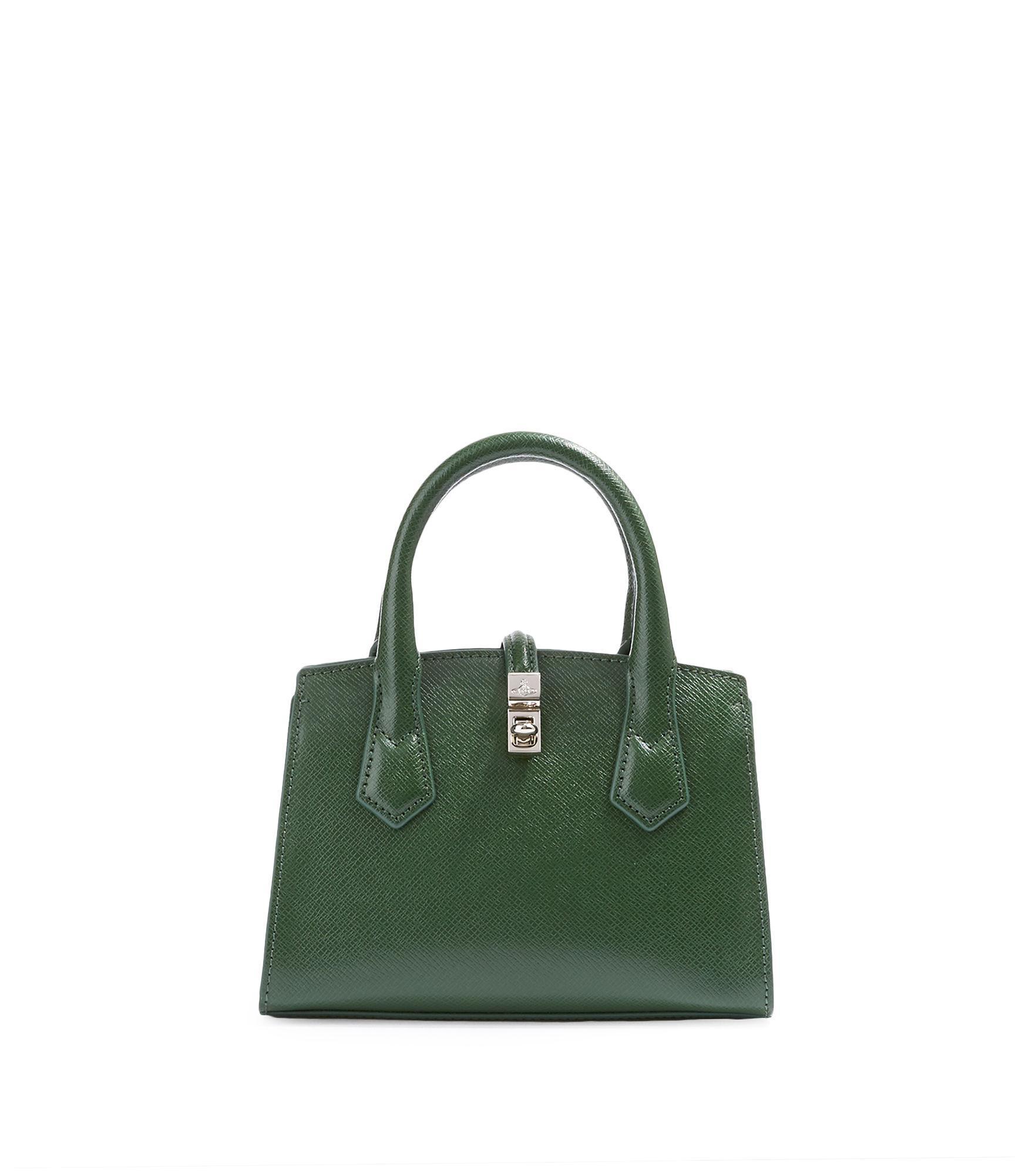 20f3ecaf99 Vivienne Westwood Sofia Small Handbag Green