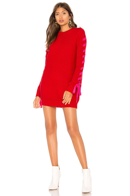 4f90b6493ab Lovers+Friends Lovers + Friends X Revolve Madison Dress In Neutral ...