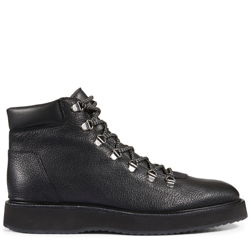 Hogan 'route X' Hiking Boots In Black | ModeSens