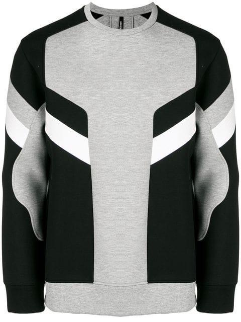 Neil Barrett Modernist Sweatshirt In Grey