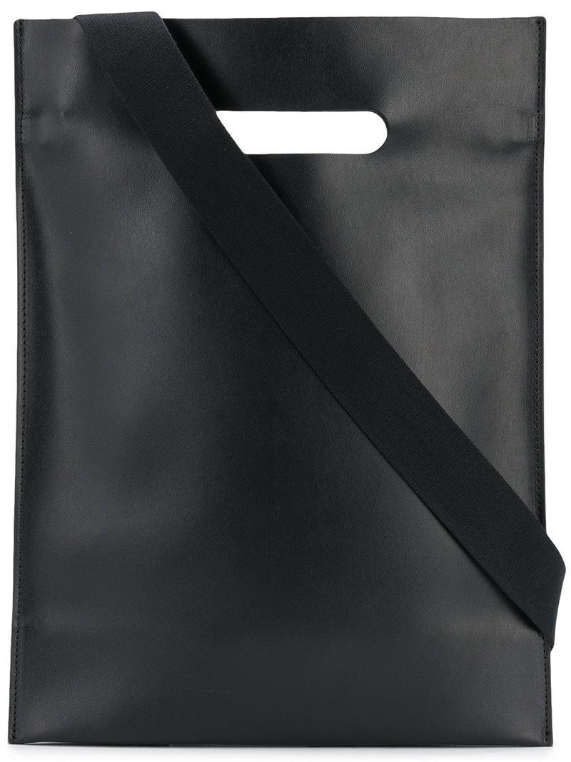 967cf240bde8a Mm6 Maison Margiela Strukturierter Shopper - Schwarz In Black