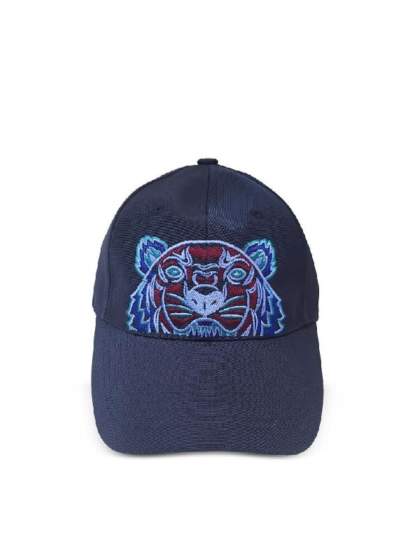 410d9a52fa Navy Blue Tiger Canvas Cap