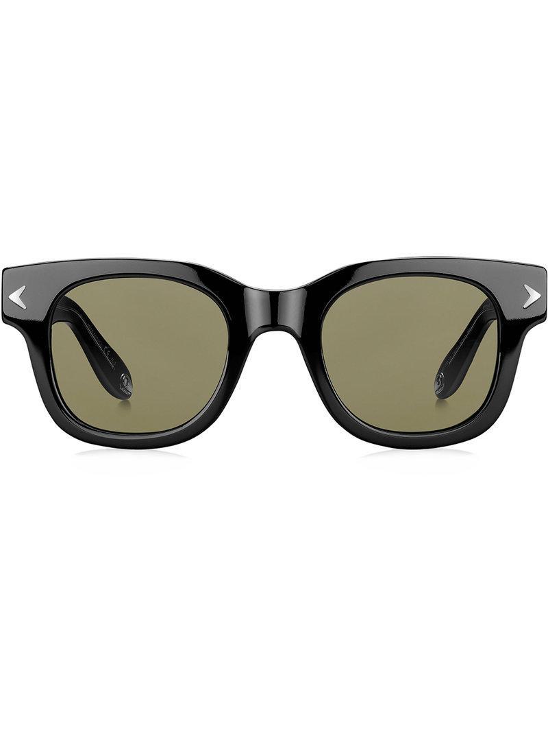 df7018a5f1 Givenchy Eyewear Rectangular Frame Sunglasses - Black. Farfetch