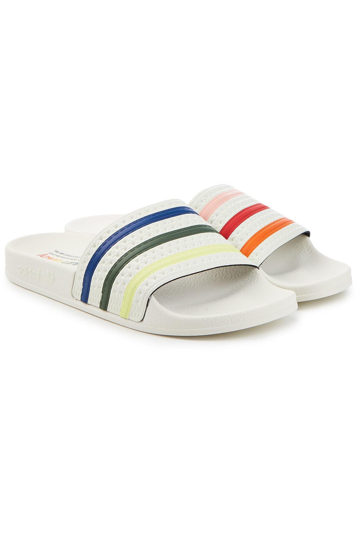 Adilette Pride Slides In Multicolored