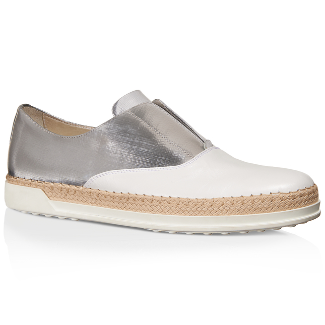 Tod's Leather Slip-On Shoes