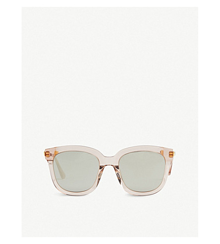 Gentle Monster Absente Acetate Sunglasses In Pink