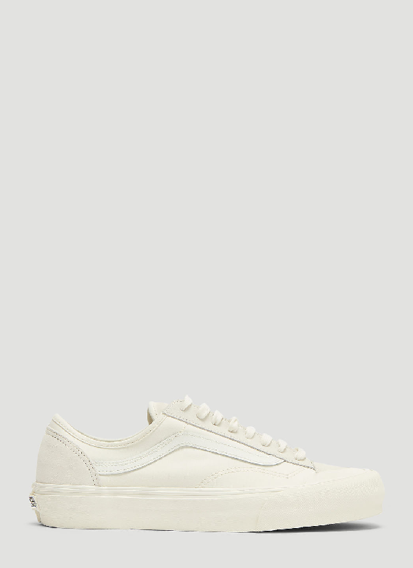 72e72bcec6 Vans + Pop Trading Company Style 36 Pro Suede And Nylon Sneakers - Cream In  White
