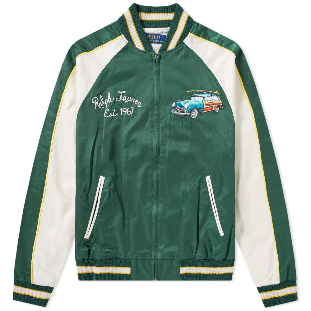 Polo Satin Tour In Ralph Lauren Jacket Green IDH29EWY