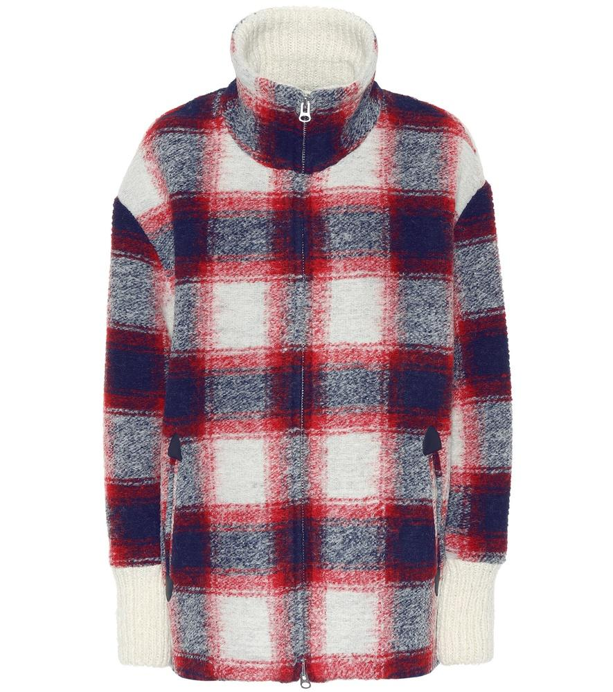 f48c7cc5480be4 Etoile Isabel Marant Gimo Checked Wool-Blend Jacket In Multicoloured ...