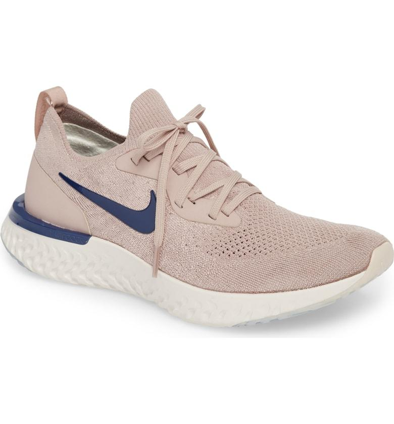 huge discount 4dc62 946f2 Nike Men s Epic React Flyknit Running Shoes, Brown In Purple