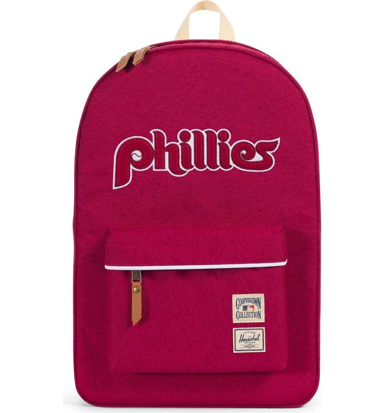 f7d3201b910 Herschel Supply Co. Heritage - Mlb Cooperstown Collection Backpack - Red In  Philadelphia Phillies
