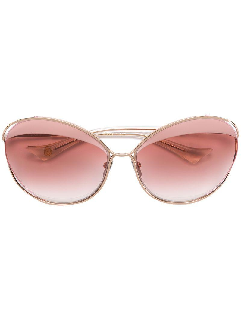 b28173578d Dita Eyewear Oversized Frame Sunglasses - Metallic. Farfetch