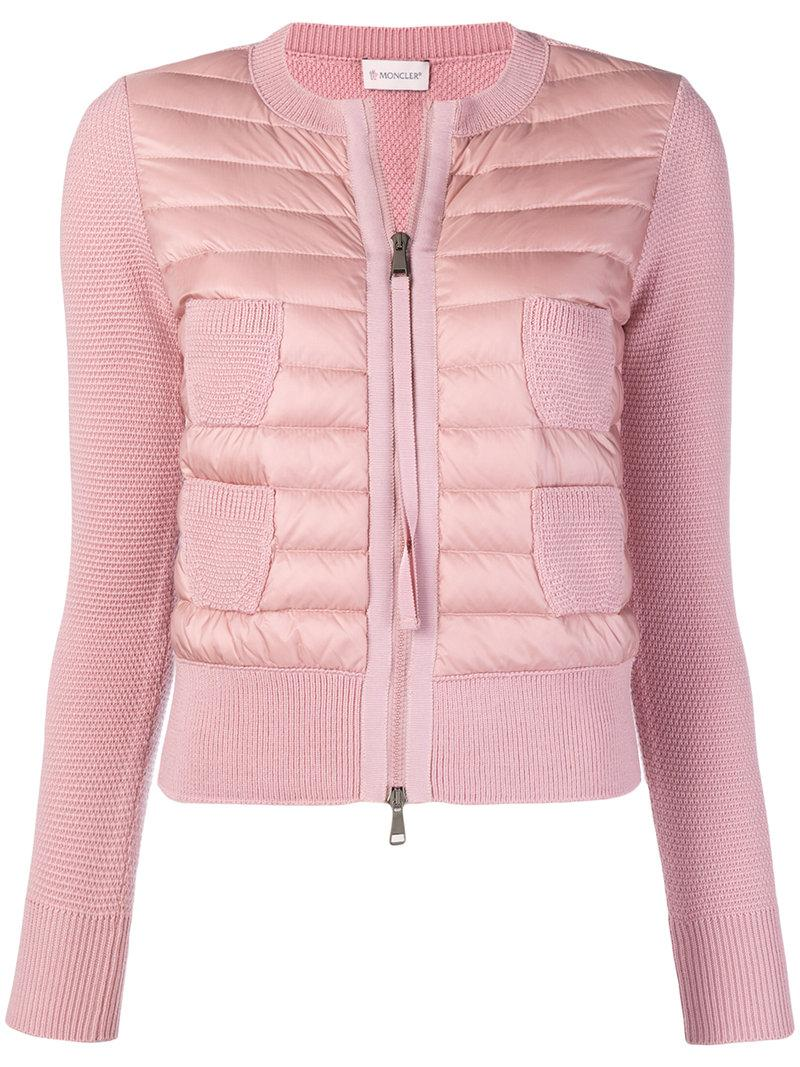 b96861e8e055 Moncler Padded Multi-Pocket Jacket - Pink   Purple