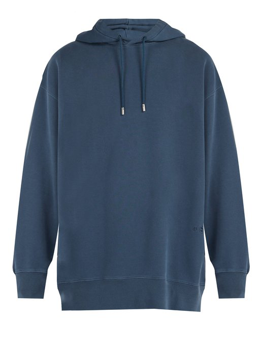 fcb534f8bf190e Acne Studios Oversized Fala Wash Hooded Sweatshirt In Blue | ModeSens