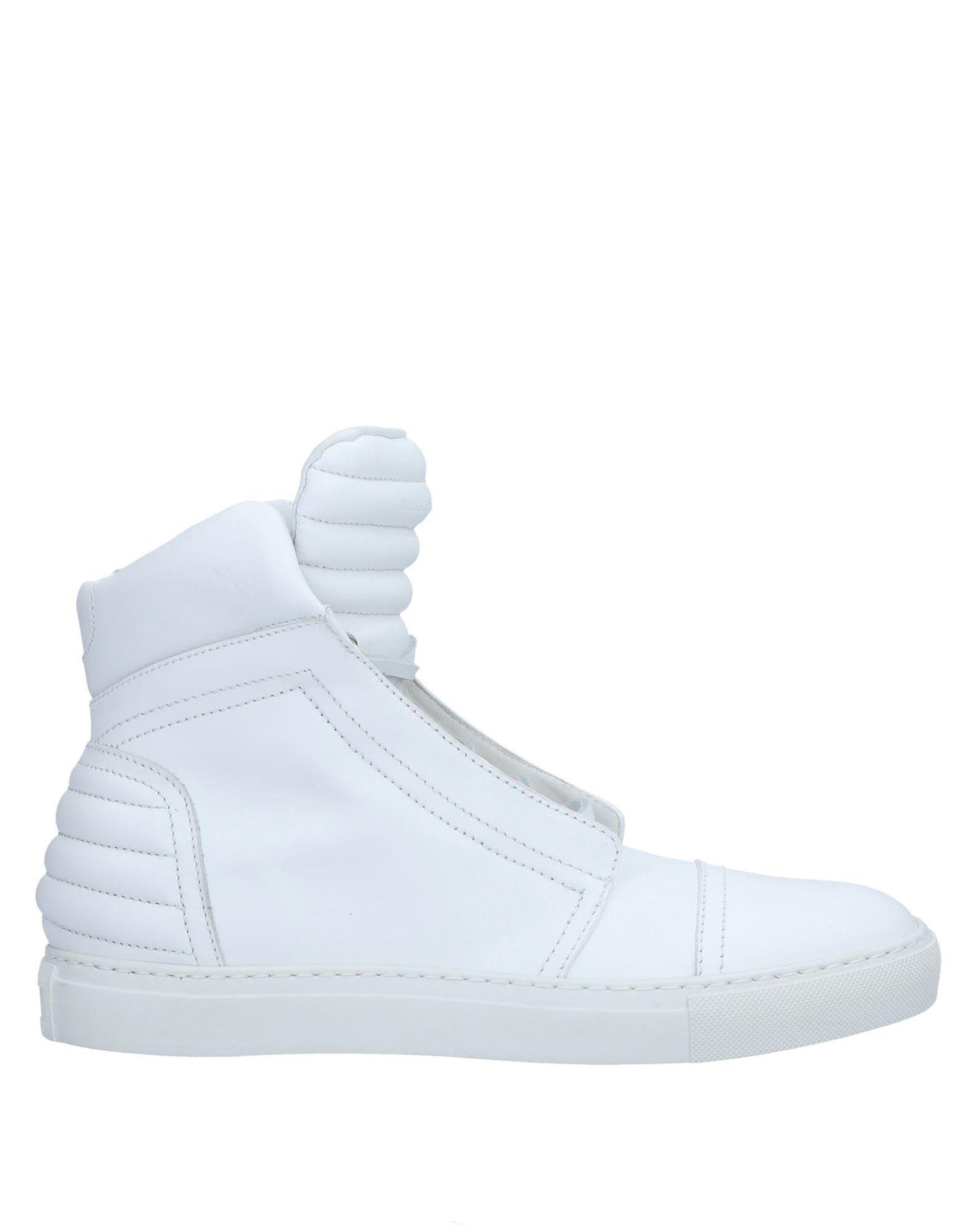 Diesel Black Gold Sneakers In White