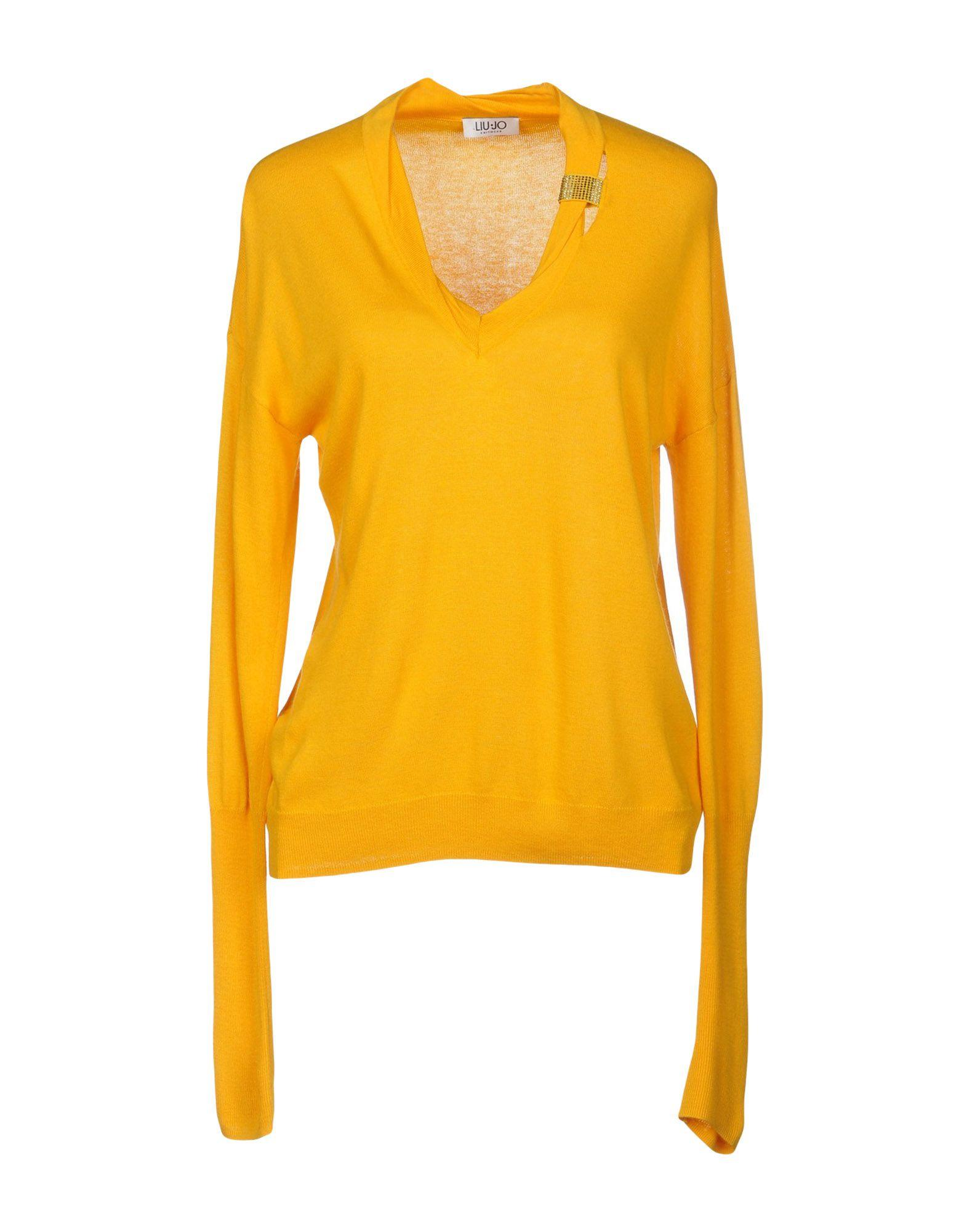 Liu •jo Sweater In Ocher
