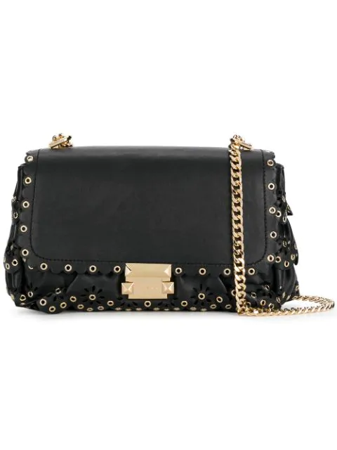 Michael Michael Kors Sloan Shoulder Bag - Black