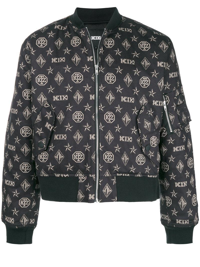 Ktz Limited Edition Bomber Jacket - Black