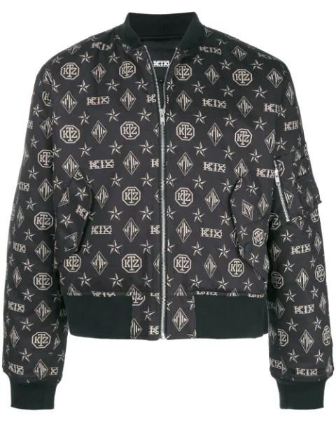 Ktz Limited Edition Bomber Jacket - Black