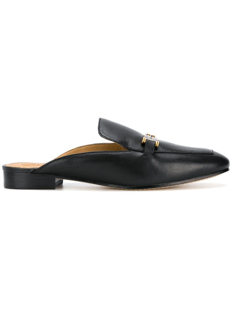 894619d58 Tory Burch Amelia Backless Loafers - Farfetch In Perfect Black 006 ...