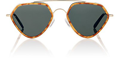 Smoke X Mirrors Geo Ii Sunglasses In Brown