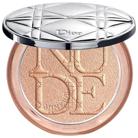 Dior Skin Nude Luminizer Shimmering Glow Powder - 01 Nude Glow