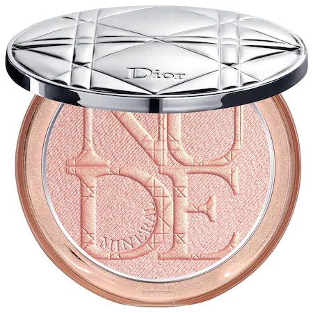 Dior Skin Nude Luminizer Shimmering Glow Powder - 02 Pink Glow