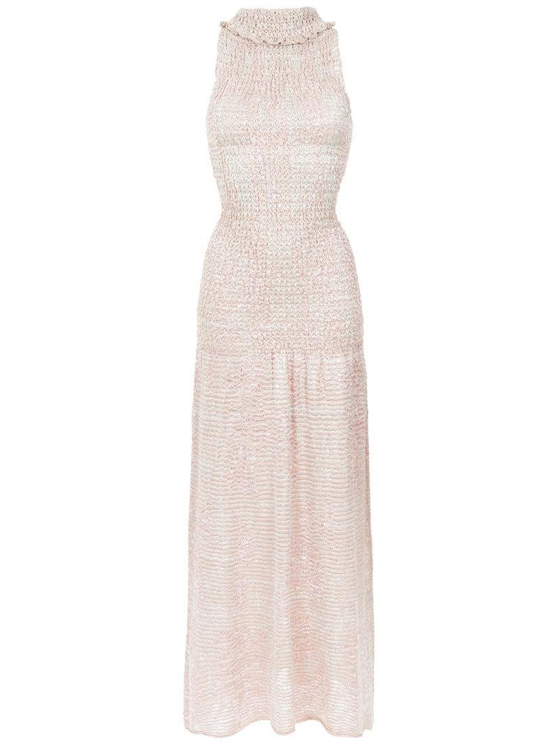 2ecf4db5148110 Cecilia Prado Lizandra Knit Gown - White | ModeSens