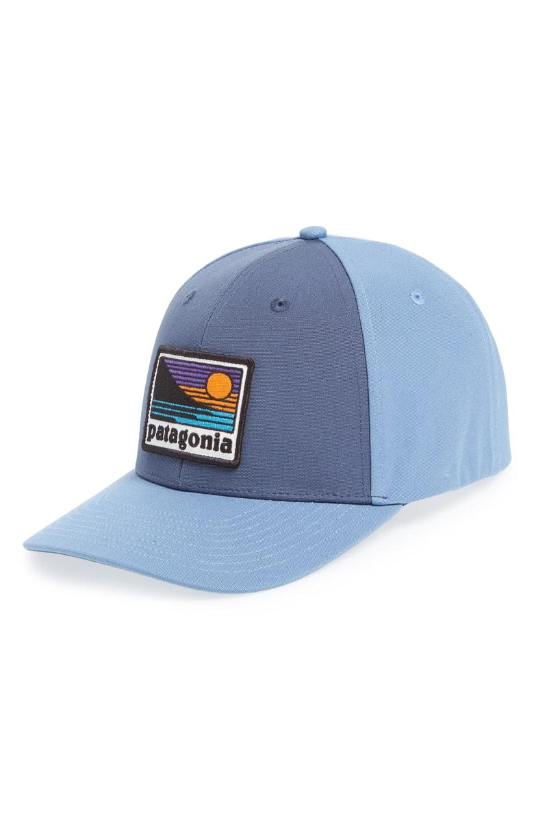 569cc43a9906c Patagonia Up   Out Roger That Trucker Cap - Blue In Dolomite Blue ...