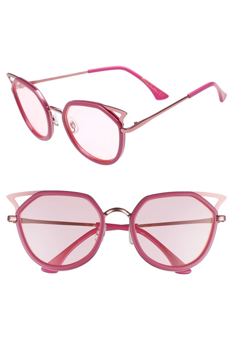 8a1896126f Circus By Sam Edelman Satellite 60Mm Cat Eye Sunglasses - Pink ...