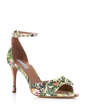 Tabitha Simmons Women's Mimmi Floral Print Leather High-Heel Sandals In Tropical Floral
