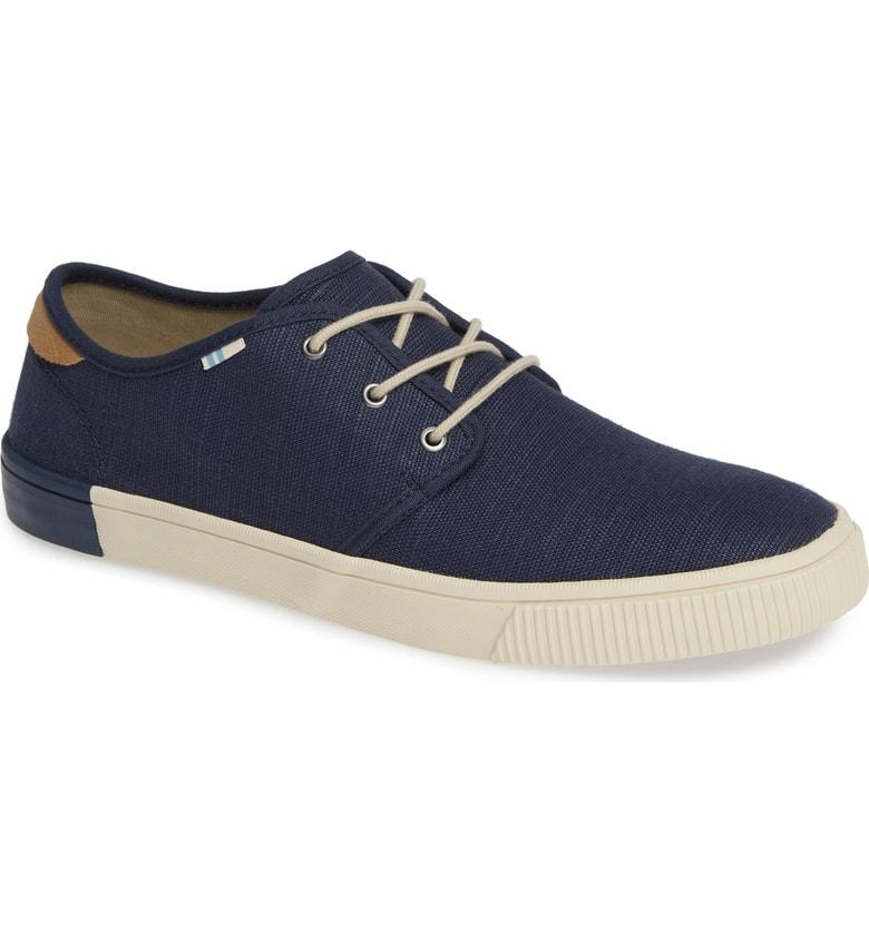 45174a41f43 Toms Carlo Low Top Sneaker In Oceana Heritage Canvas