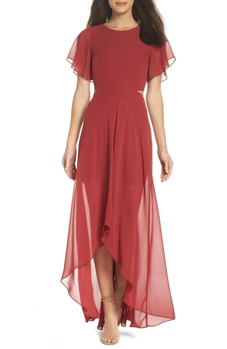 d8bebd20ce574 Ali & Jay Cutout Maxi Dress In Dusty Rose | ModeSens