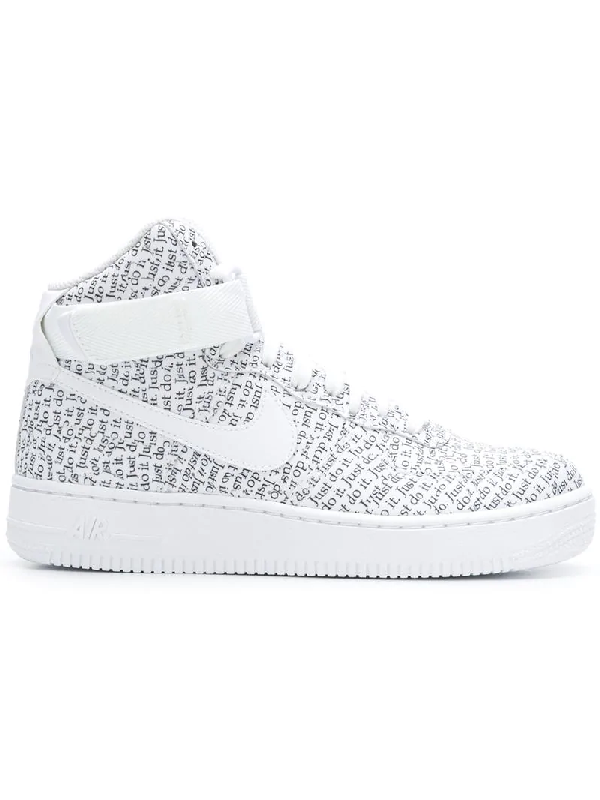 4e1993a4d4 Nike Women's Air Force 1 High Lx Casual Shoes, White | ModeSens