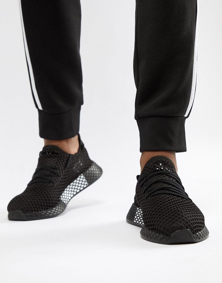 446a2d1db48f3 Adidas Originals Deerupt Sneakers In Black B41768 - Black