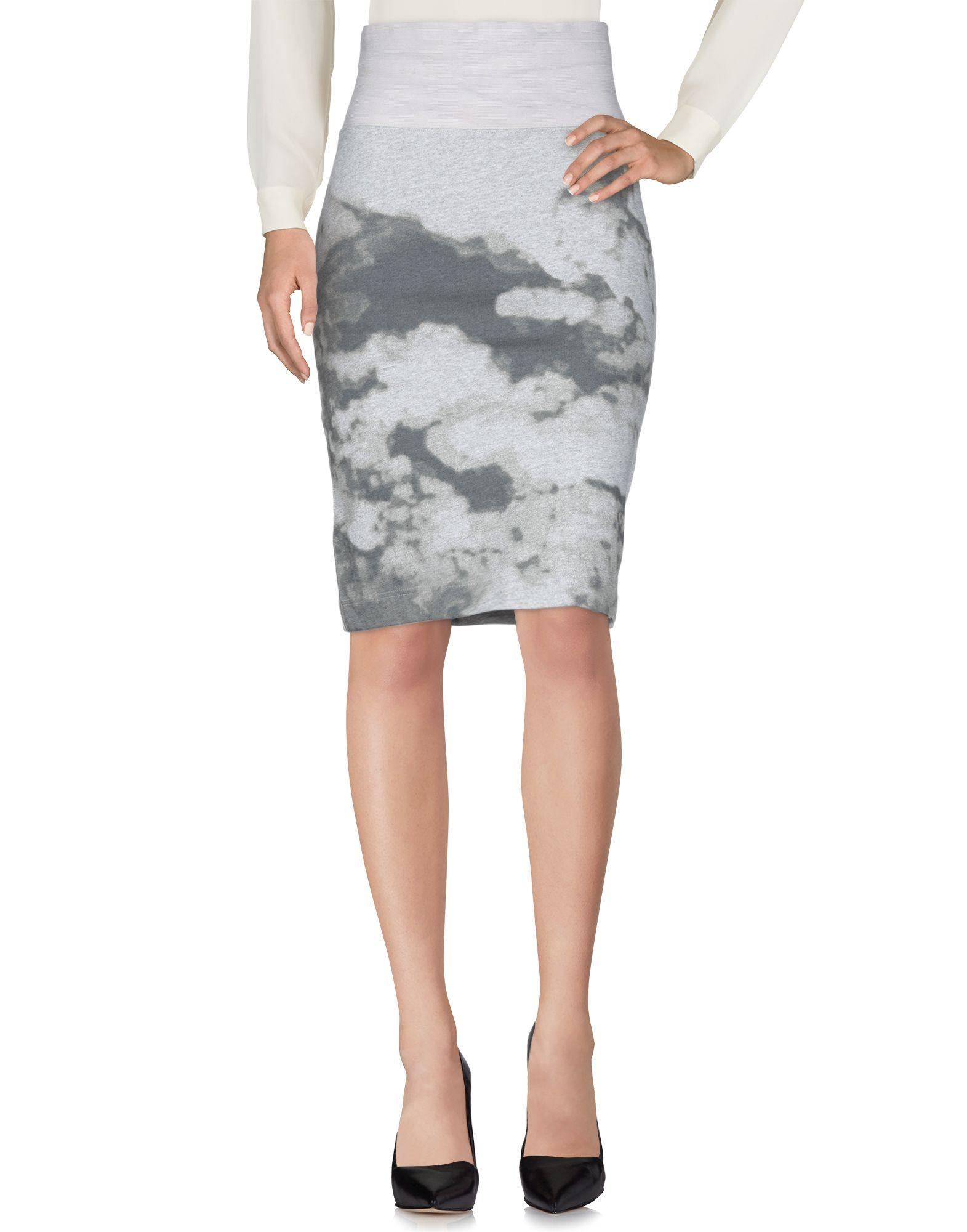 Cheap Monday Knee Length Skirts In Grey