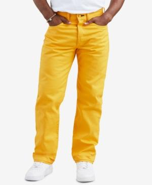 bade0c0bb4d Levi s 501 Original Shrink-To-Fit Jeans In Spector Yellow